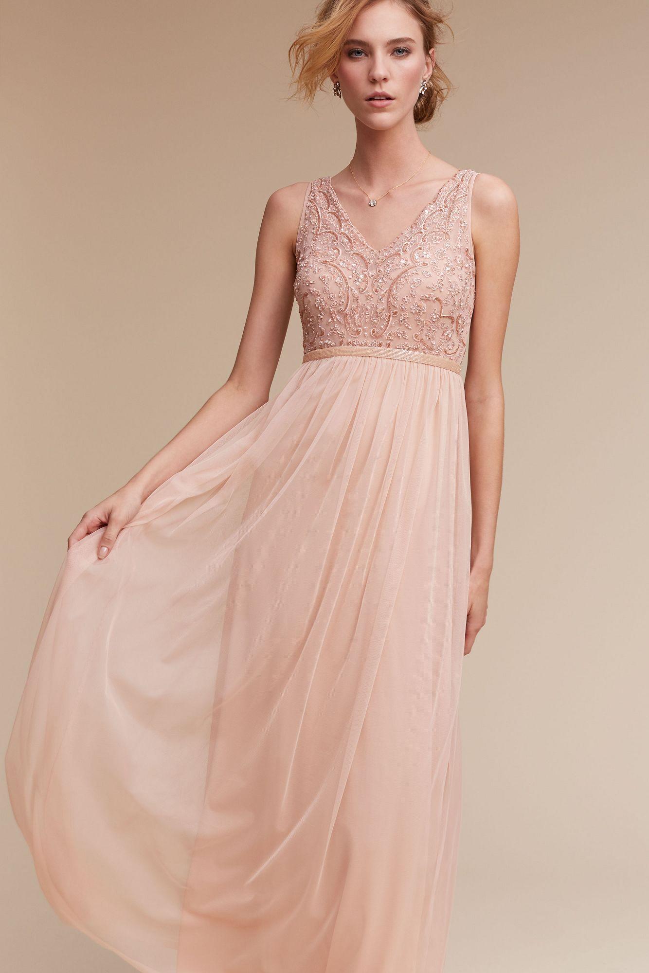 764dad53d1 Lyst - Anthropologie Orlene Dress in Pink