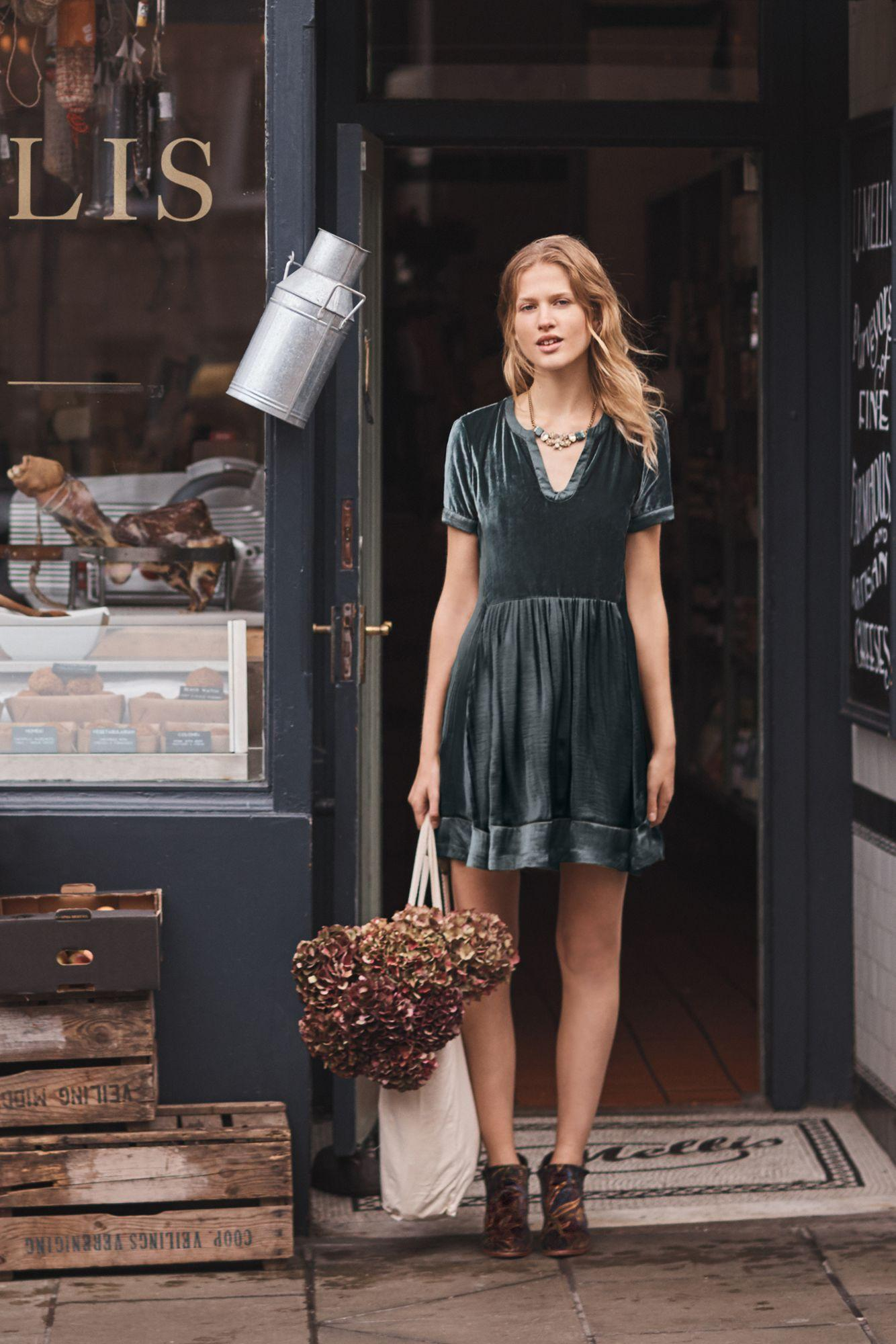 Pankaj & Nidhi - Embroidered Fern Dress - Lyst