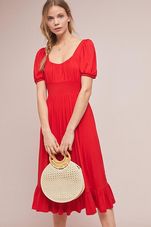 f3c878da7b Anthropologie Winona Dress in Red - Lyst