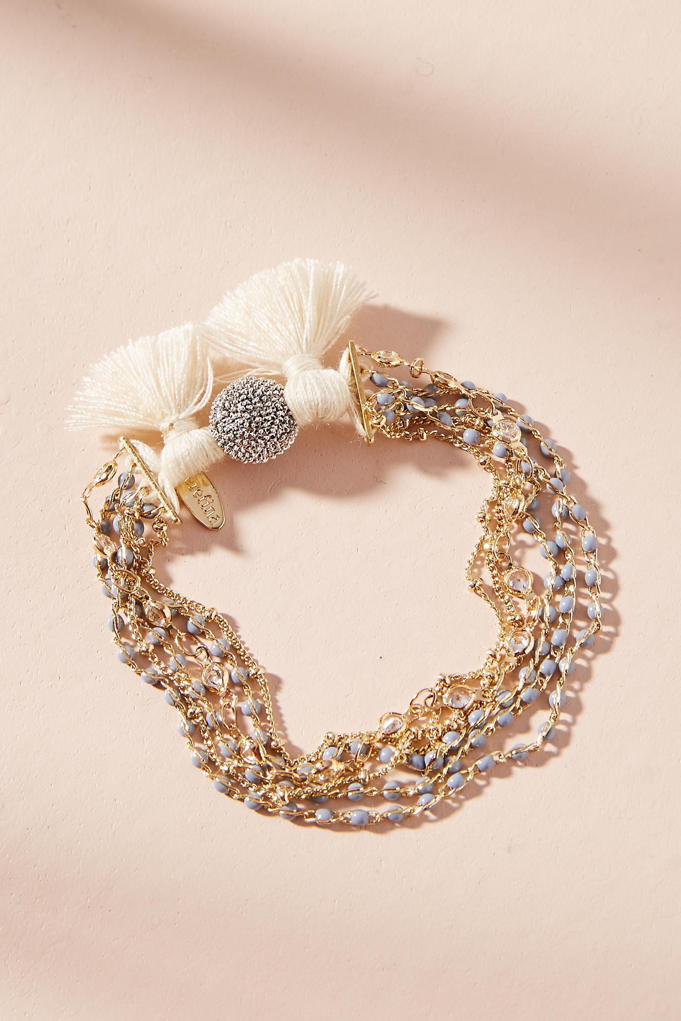 Anthropologie Mabyn Layered Bracelet 5ZA4u3BI