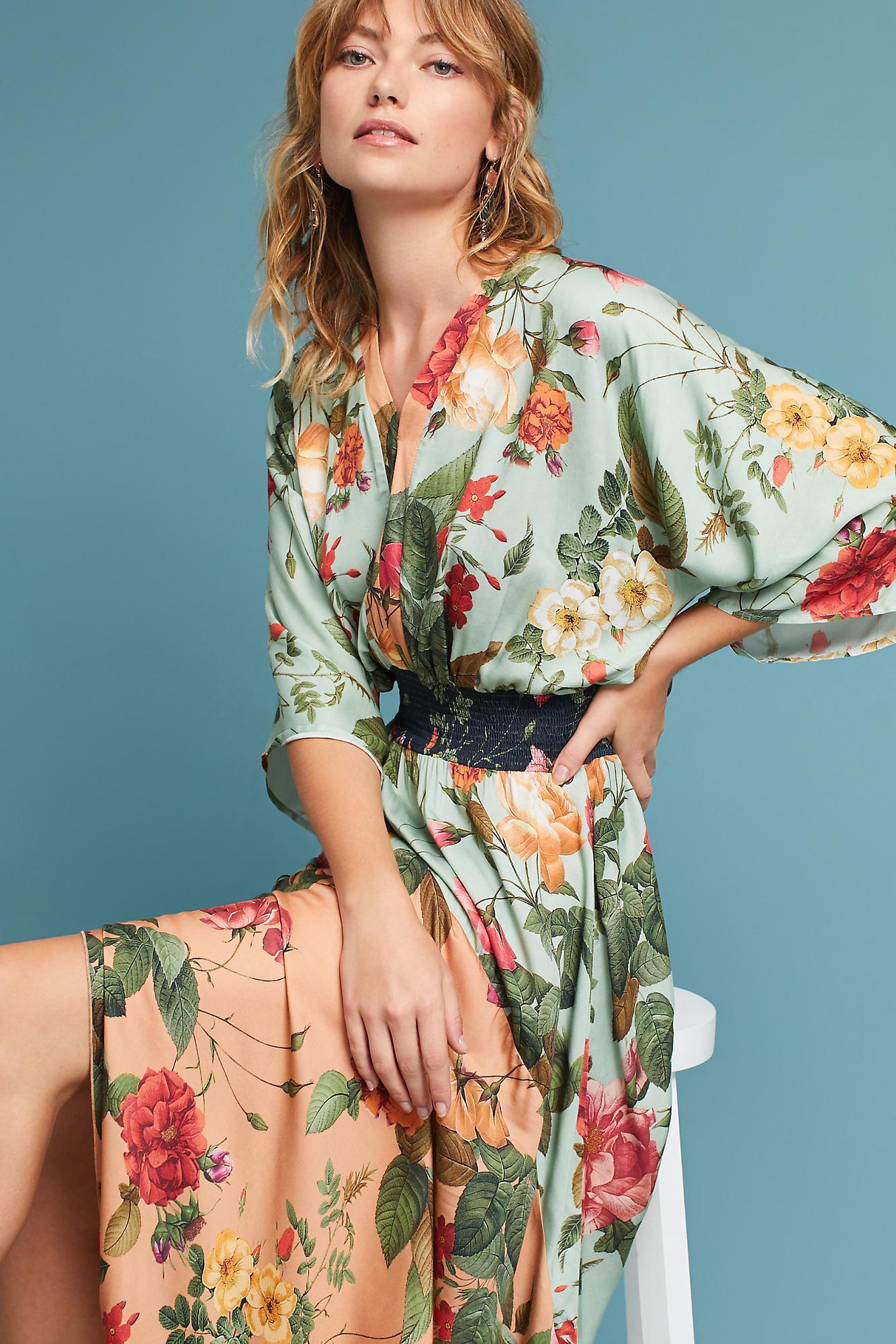 763446d379b41 FARM Rio Marilla Maxi Dress in Green - Lyst