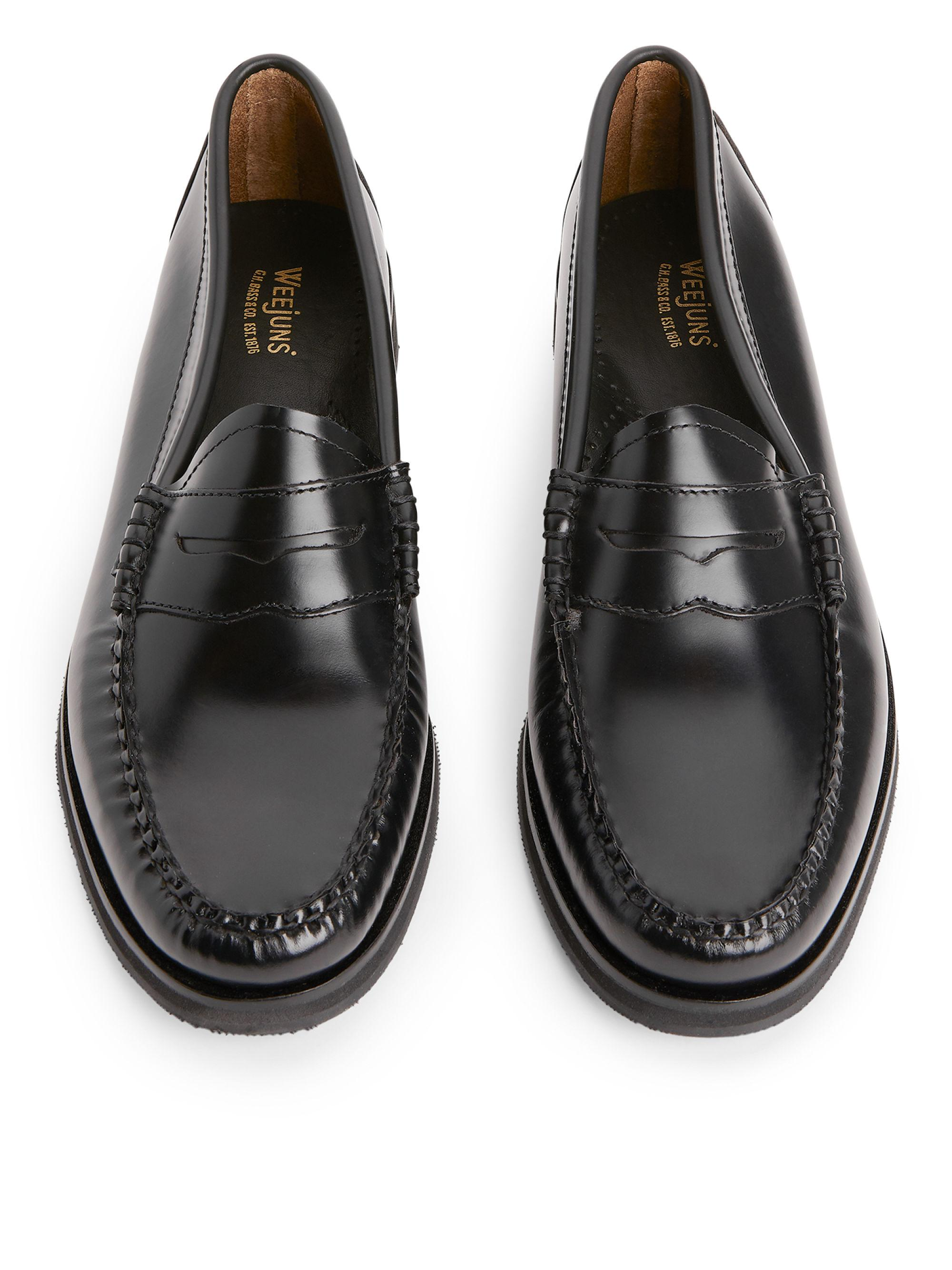 58ad82a59d4 ARKET G.h Bass Weejuns Penny Winter Loafer in Black - Lyst