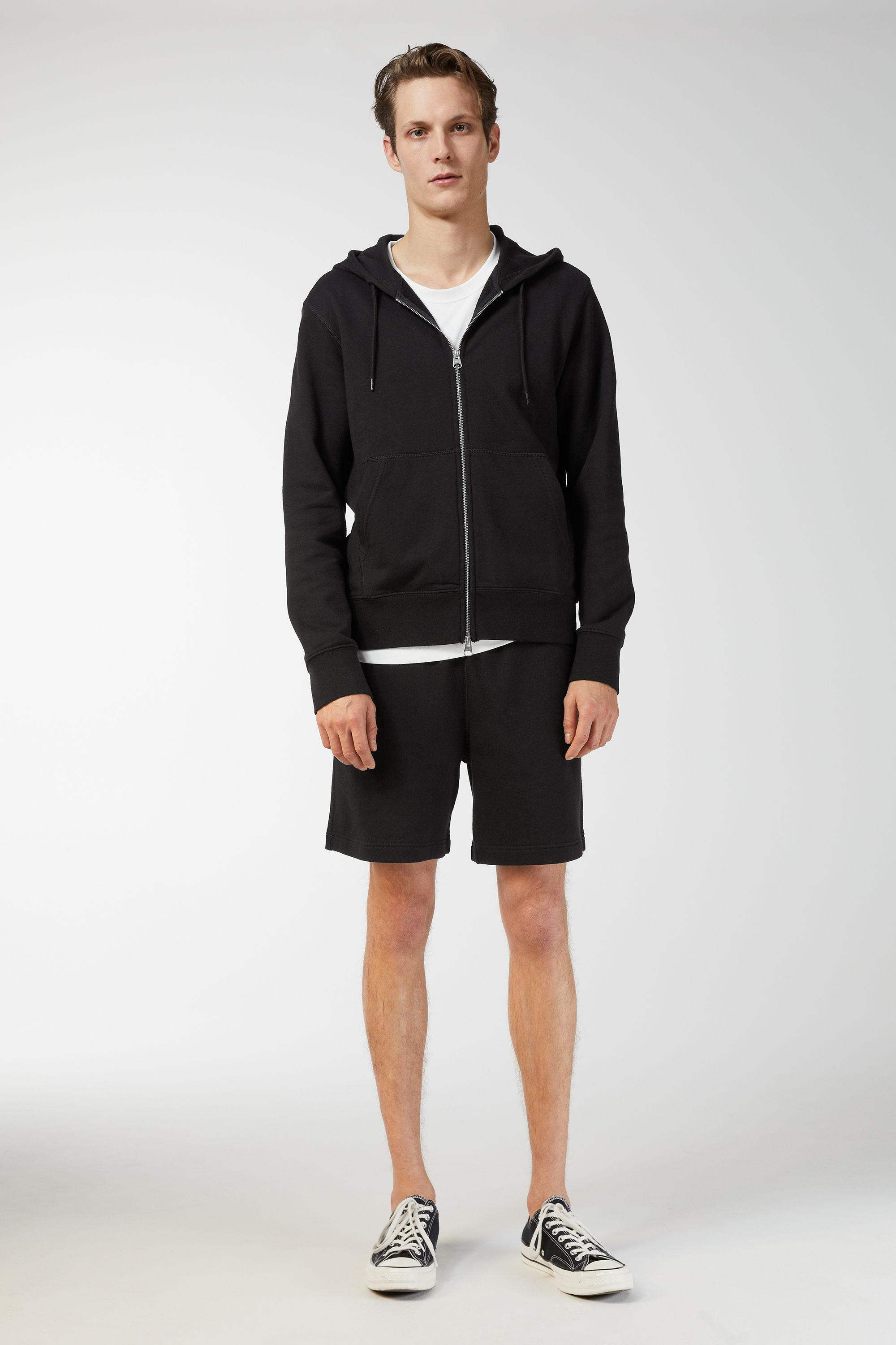 ARKET Terry French Black Men's Shorts Tracksuit ZRprZ4qnxw