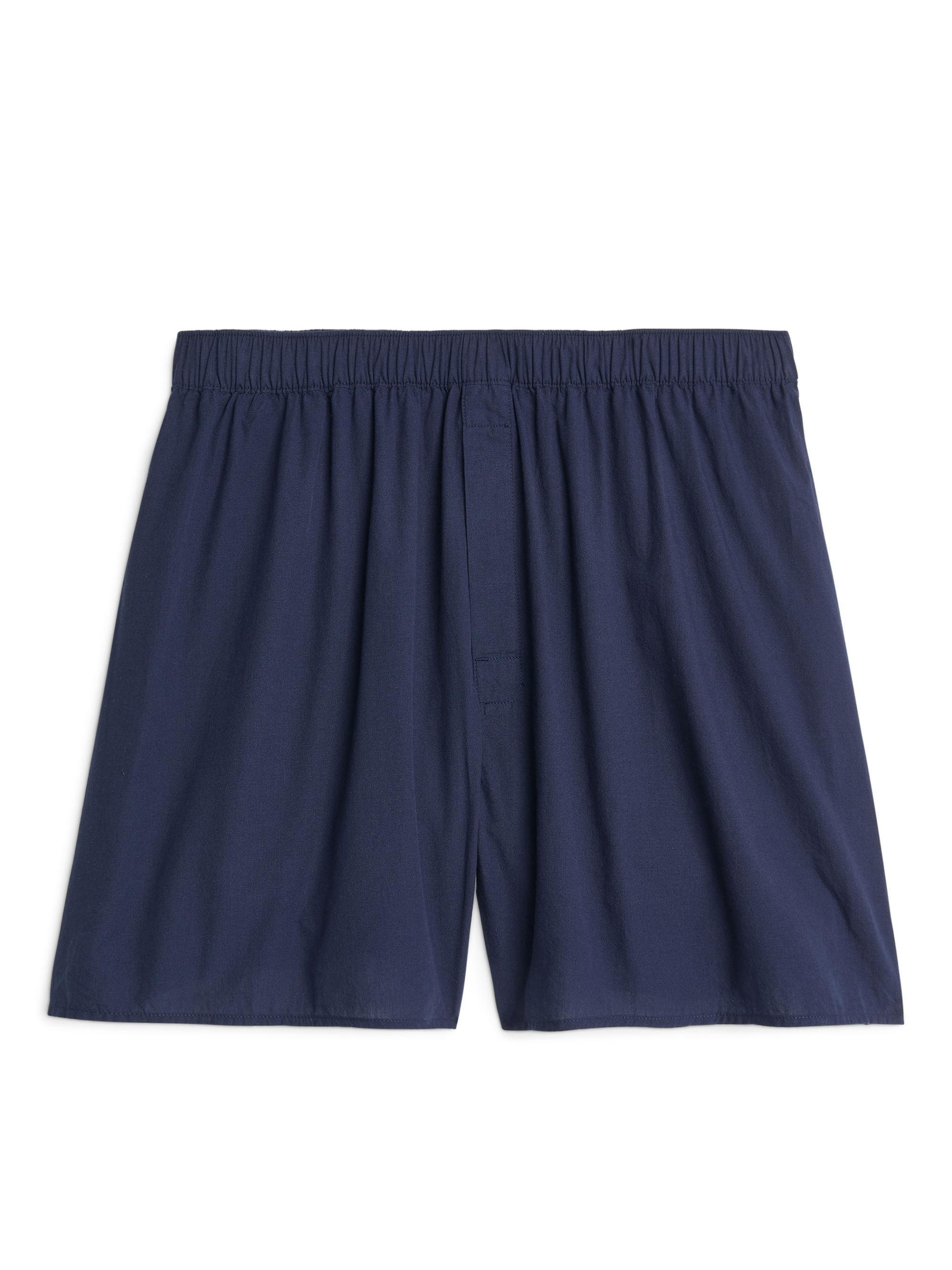 bc7a6e96ce ARKET Woven Cotton Boxer in Blue for Men - Lyst
