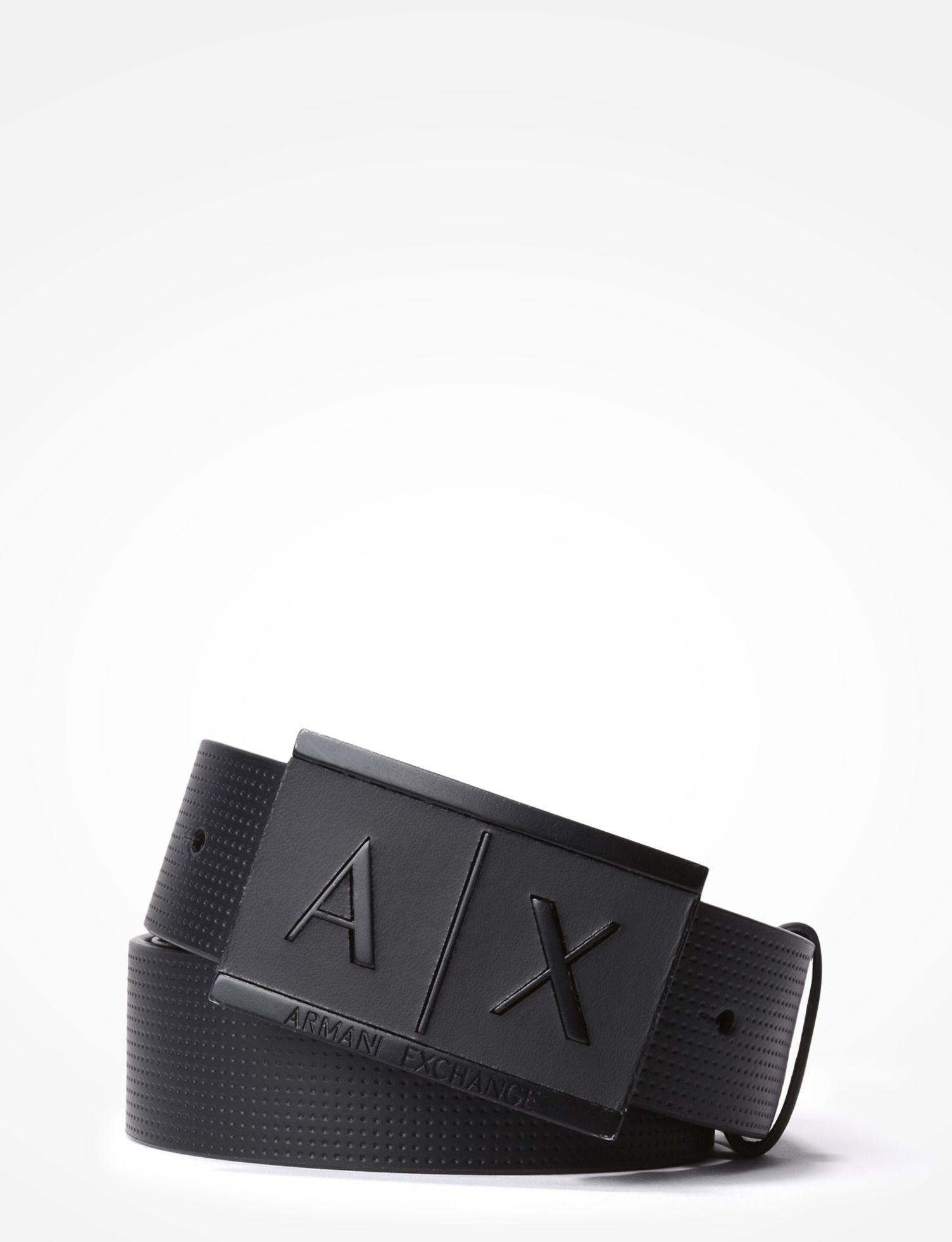 a781faa1 order armani exchange reversible leather belt cover 67374 752ce