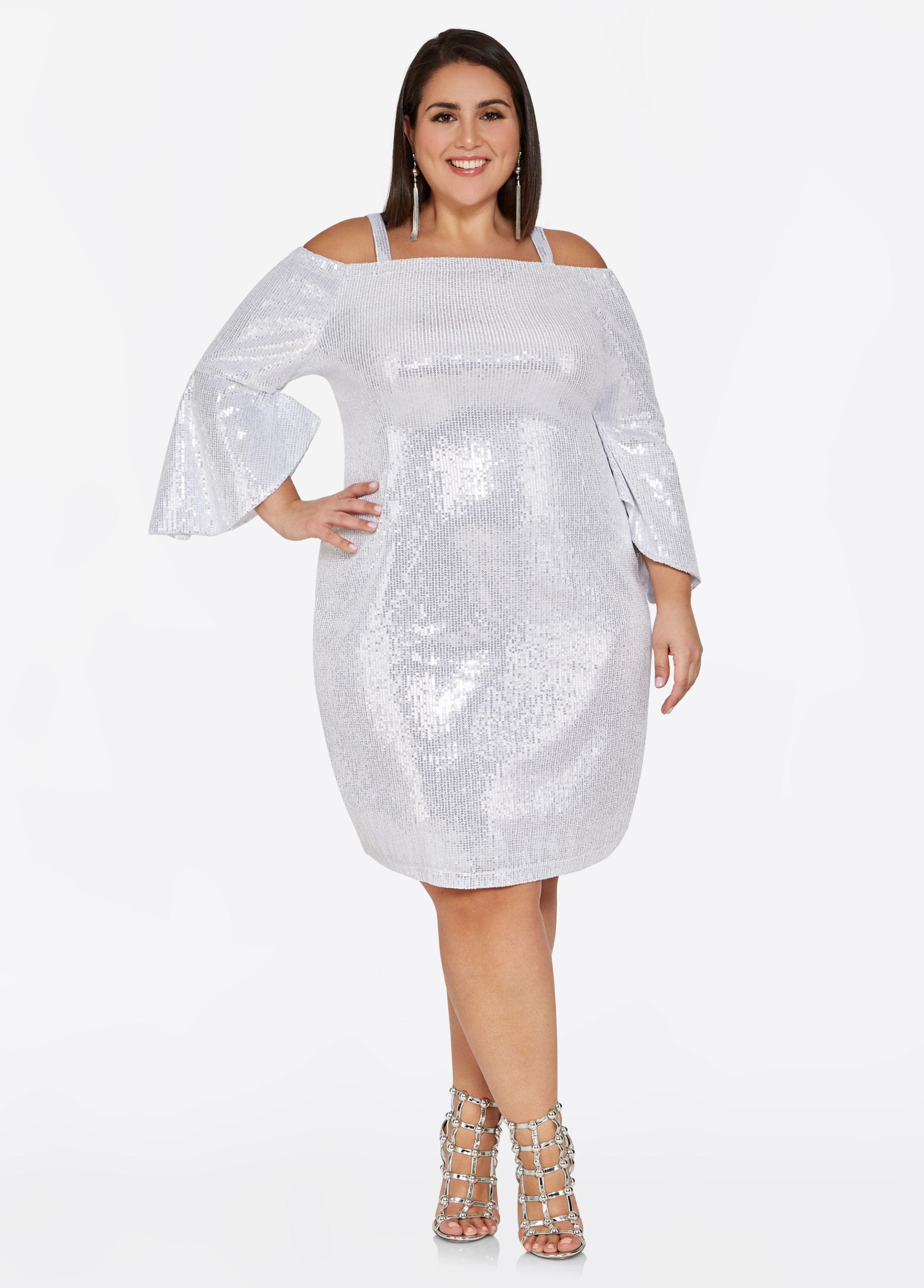 f721f215c3f Gallery. Previously sold at  Ashley Stewart · Women s White Cocktail Dresses