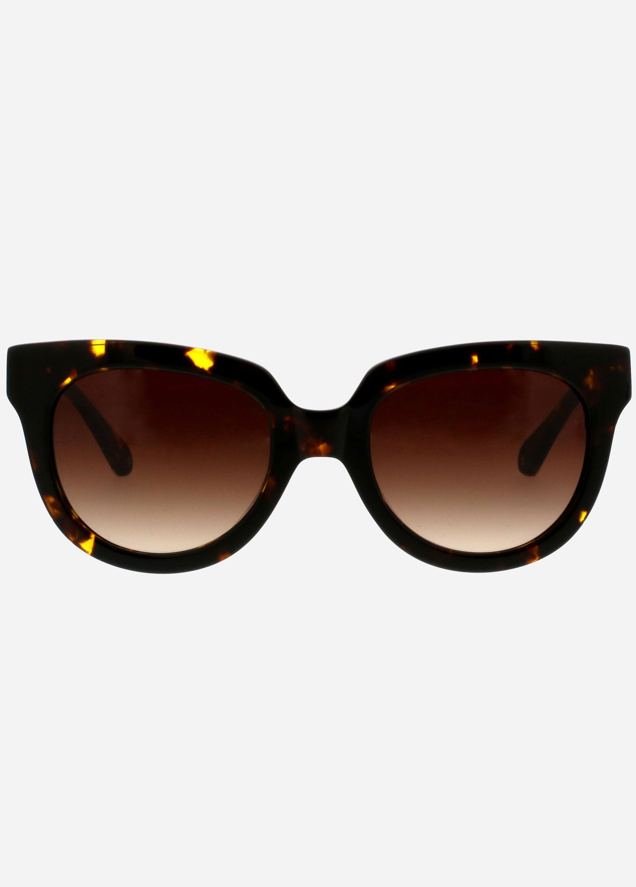 15726fc8905c4 Ashley Stewart Catherine Malandrino Modern Sunglasses in Brown - Lyst