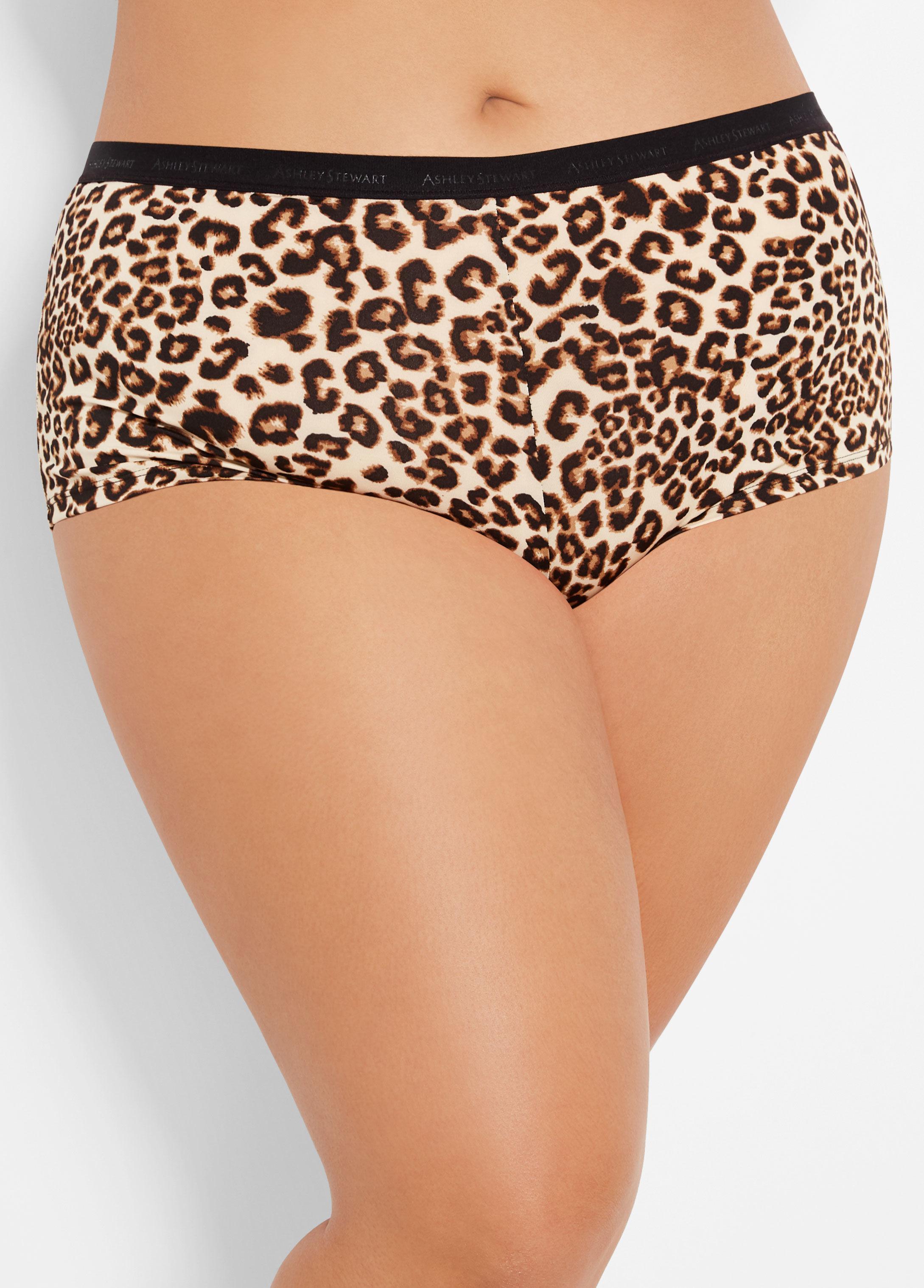 905416e099d7 Ashley Stewart. Women's Plus Size Floral Print Boyshort Panty