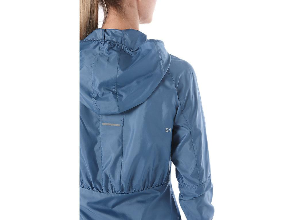 c6729b2424 Asics Packable Jacket in Blue - Lyst