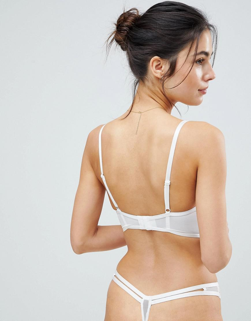 76adc0947a822 Lyst - Ann Summers Paige Bridal Thong in White