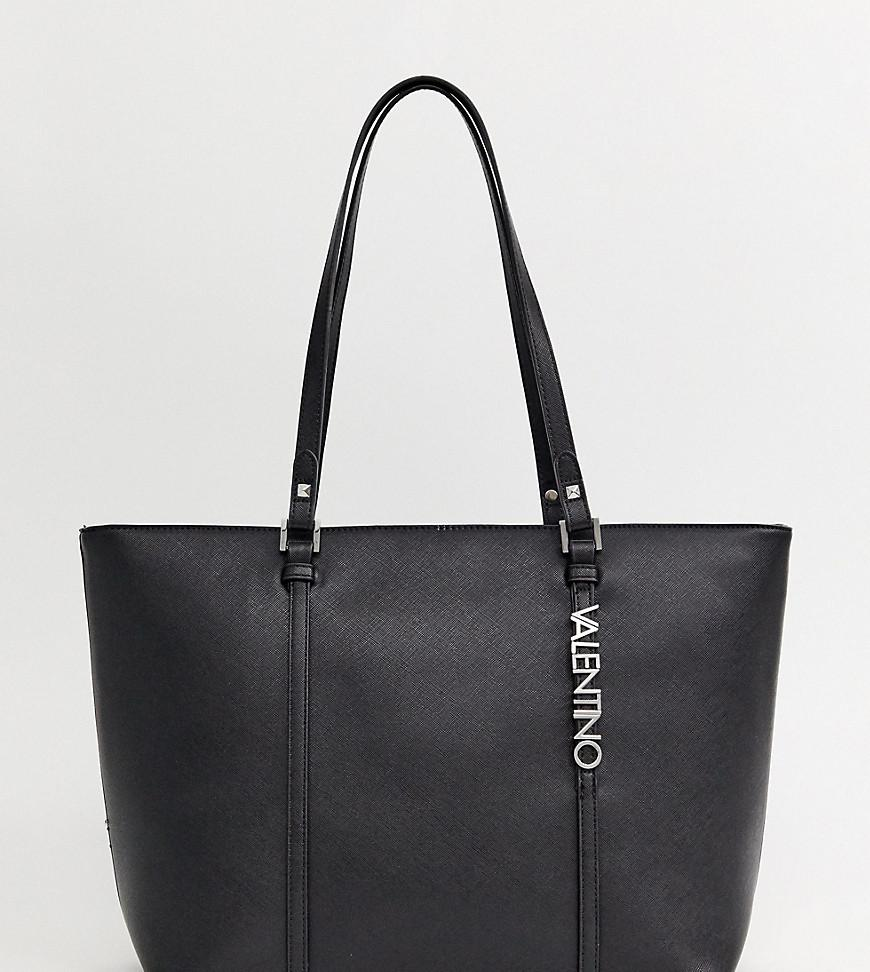f646322ca0f5 Valentino By Mario Valentino Crosshatch Tote Bag In Black in Black ...