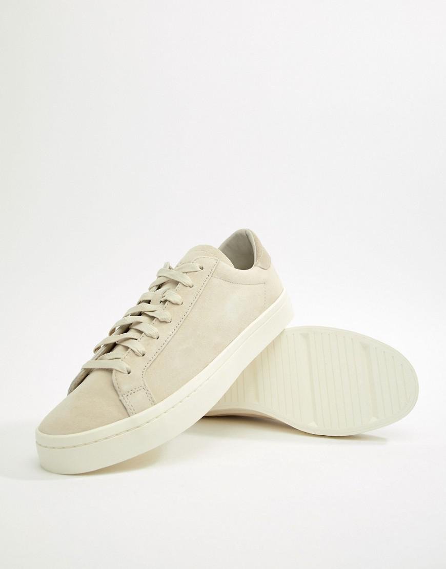 info for 8edf4 f9fce adidas Originals Court Vantage Sneakers In White Cq2564 in W