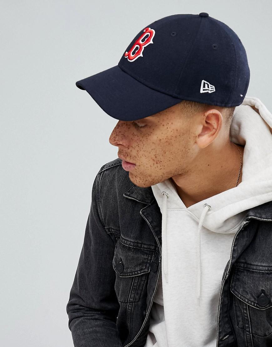 KTZ - Black 9forty Adjustable Cap Boston Red Sox for Men - Lyst. View  fullscreen 76f90058cd72