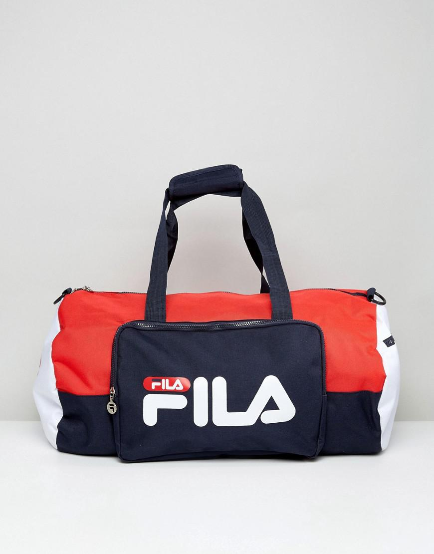 2ebe7eb68a Lyst - Fila Fila Barrell Bag in Blue for Men