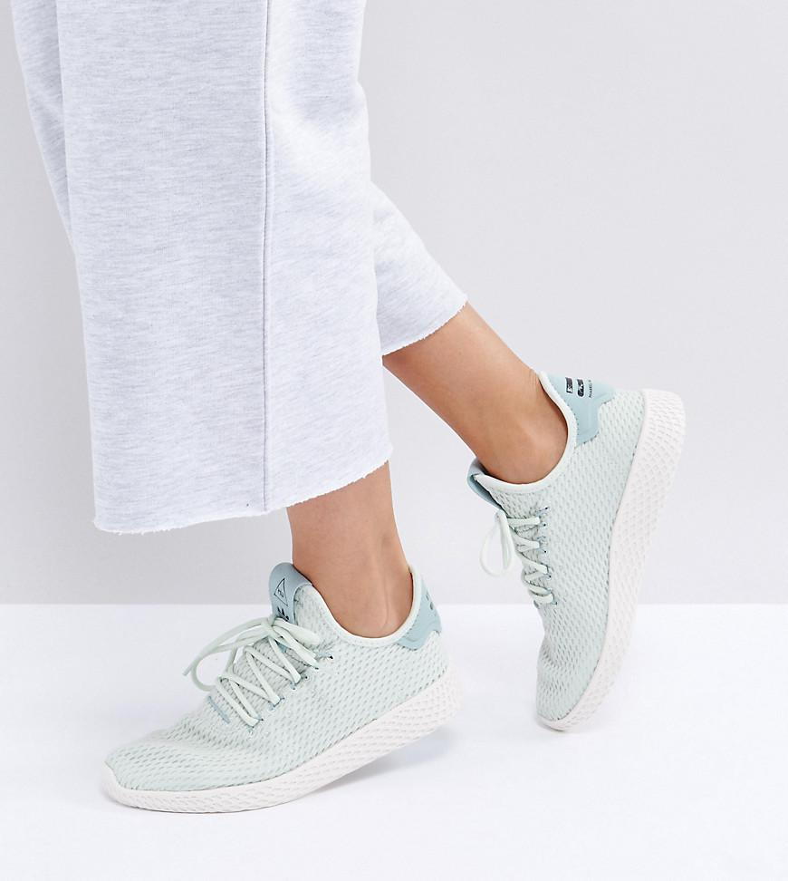 Lyst - adidas Originals X Pharrell Williams Tennis Hu Sneakers In ... 8caceb44a