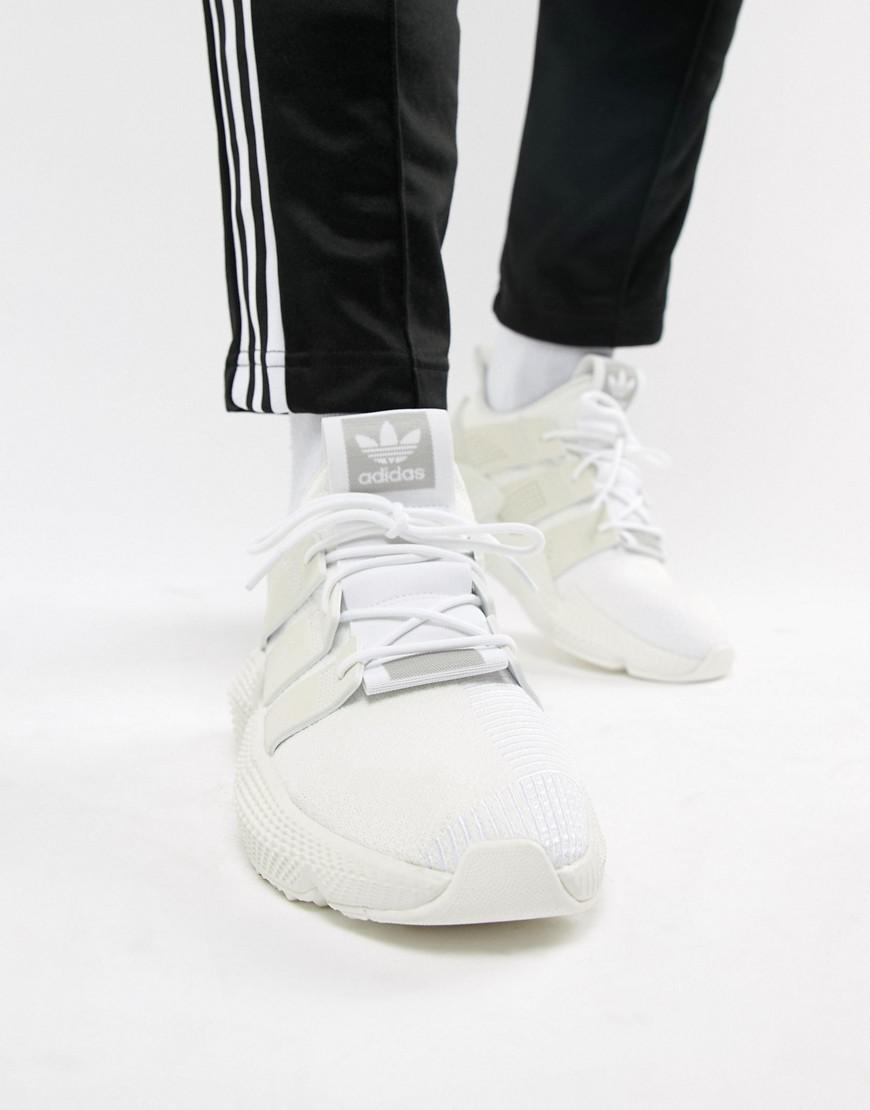 68d5a0c3246a Lyst - adidas Originals Prophere Sneakers In White B37454 in White ...