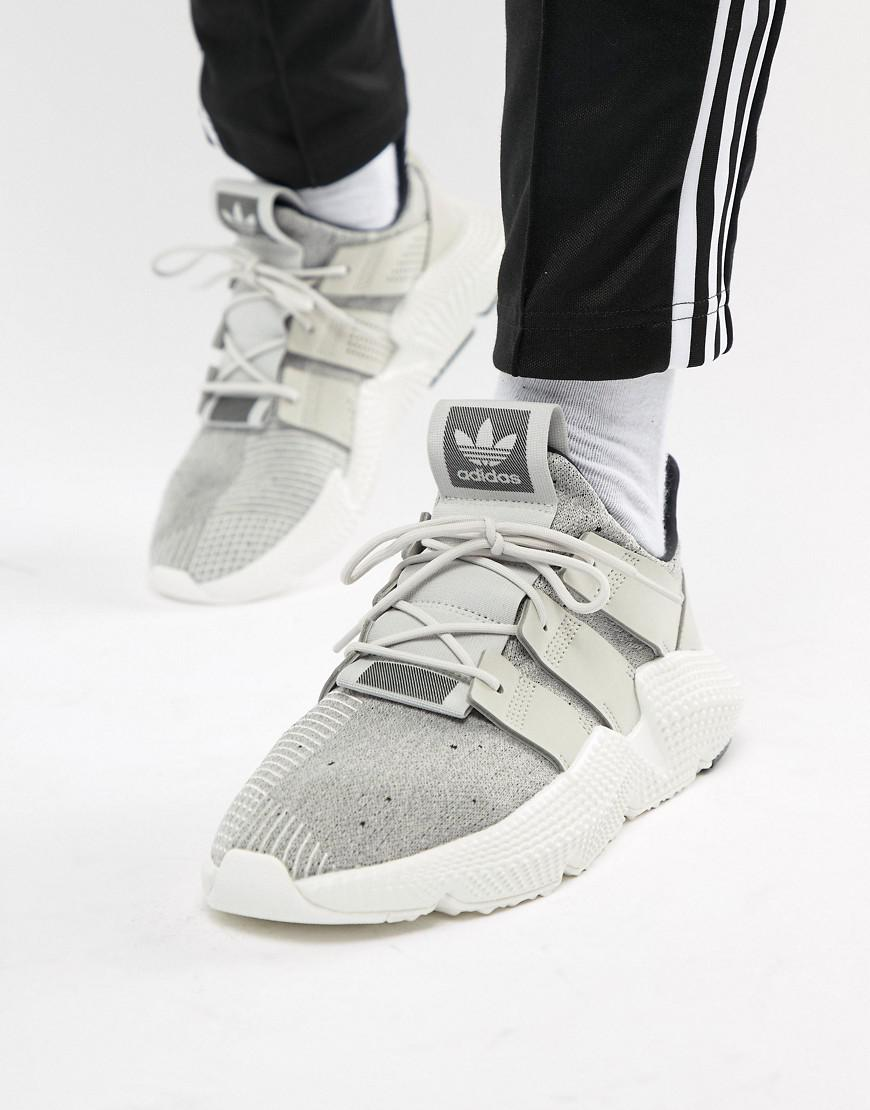 Prophere Sneakers In Khaki And Copper