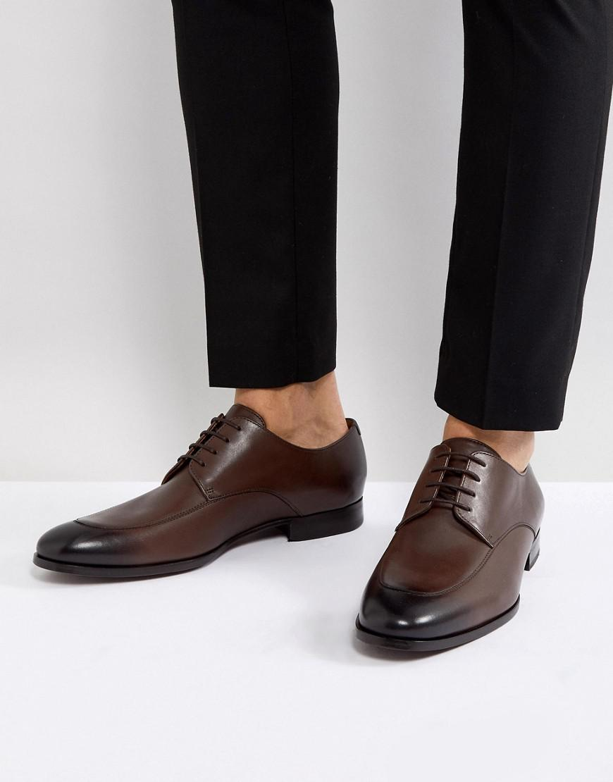 733897cc881 Lyst - BOSS Boss Hanover Derby Shoes In Brown in Brown for Men