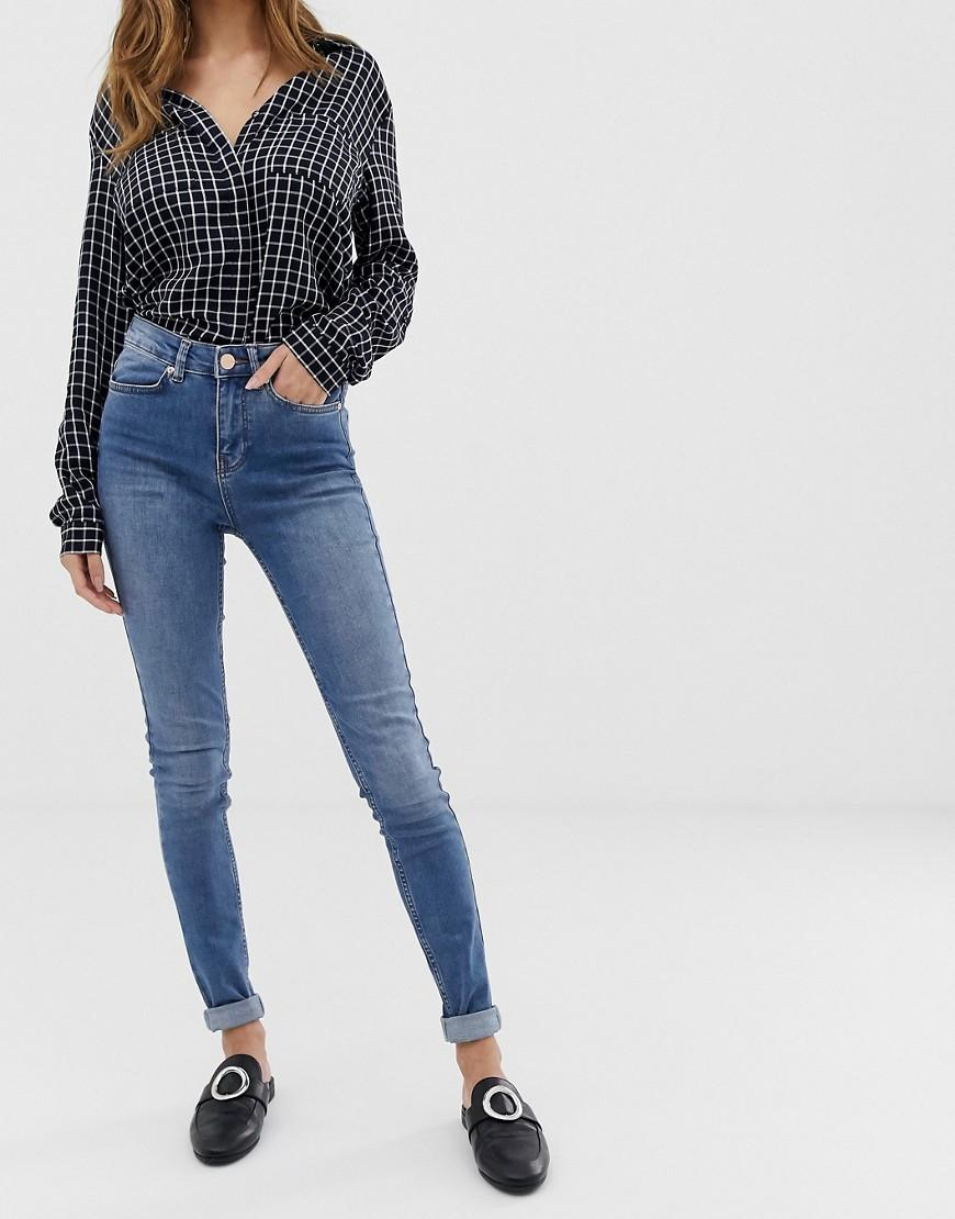 9fe011103695c8 Oasis Pale Long Leg Skinny Jeans in Blue - Lyst