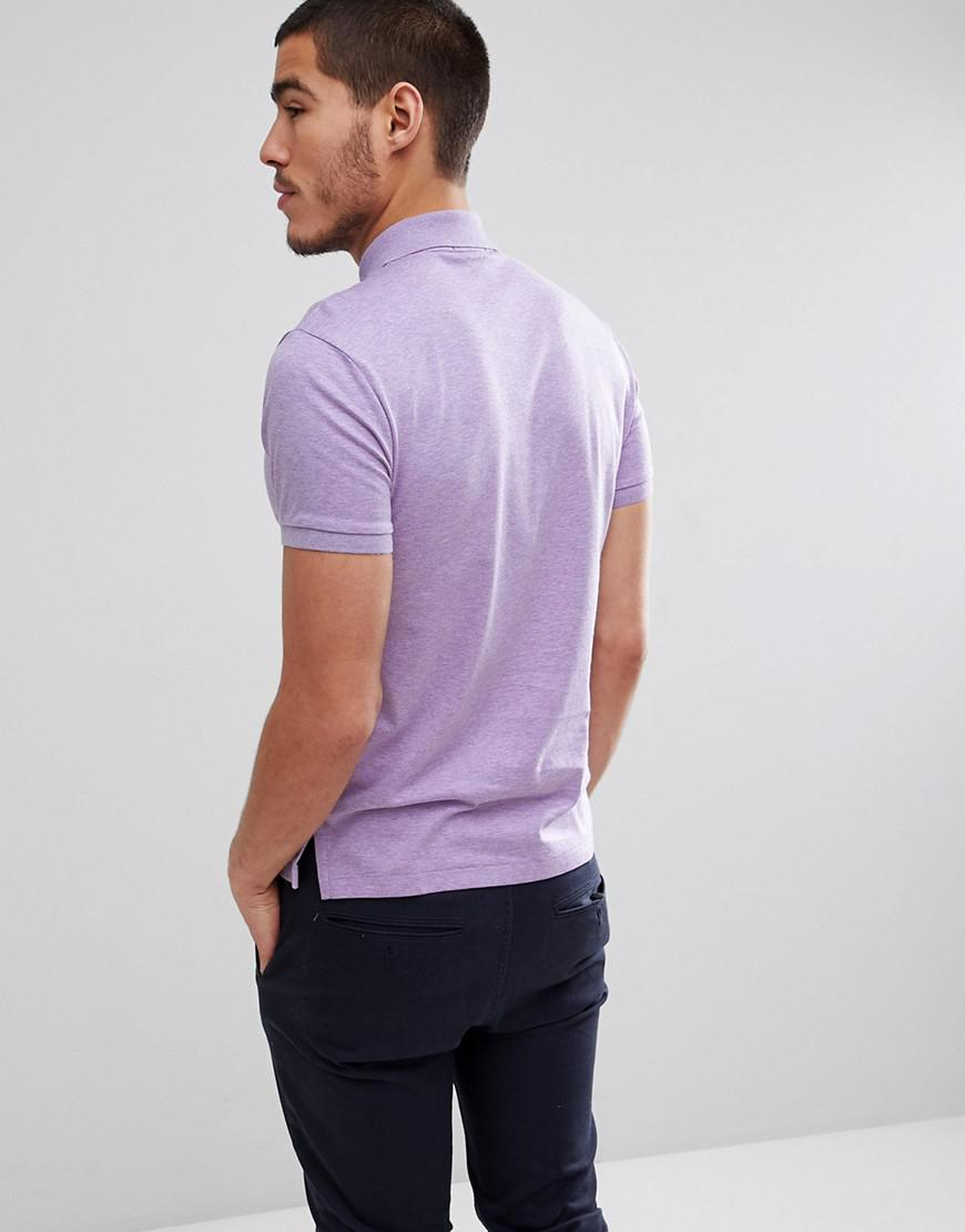 En Lyst Logo Coton Joueur Jersey Pima Polo Slim De REEwFv