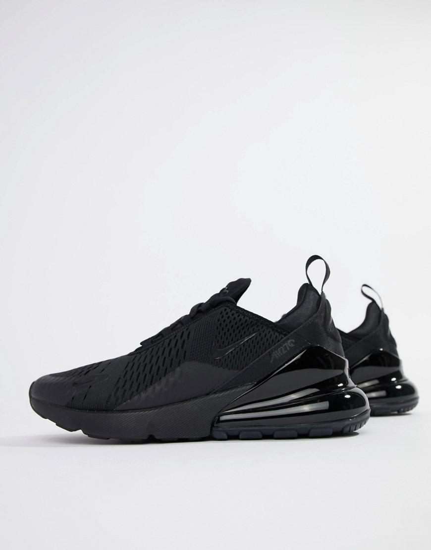 Nike Air Max 270 Trainers In Black Ah8050-005 in Black for Men - Lyst 168f7e9cd