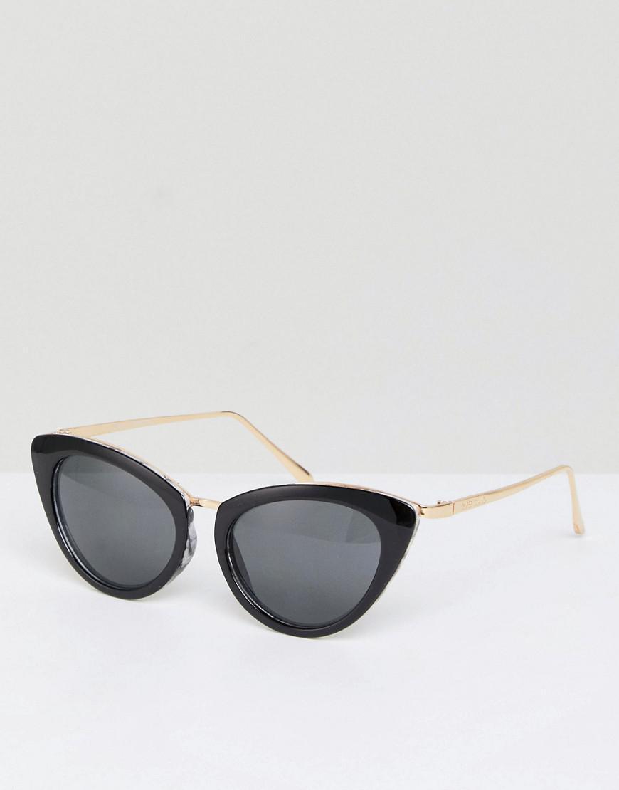 58d39d4d74a Lyst - River Island Retro Cat Eye Sunglasses in White