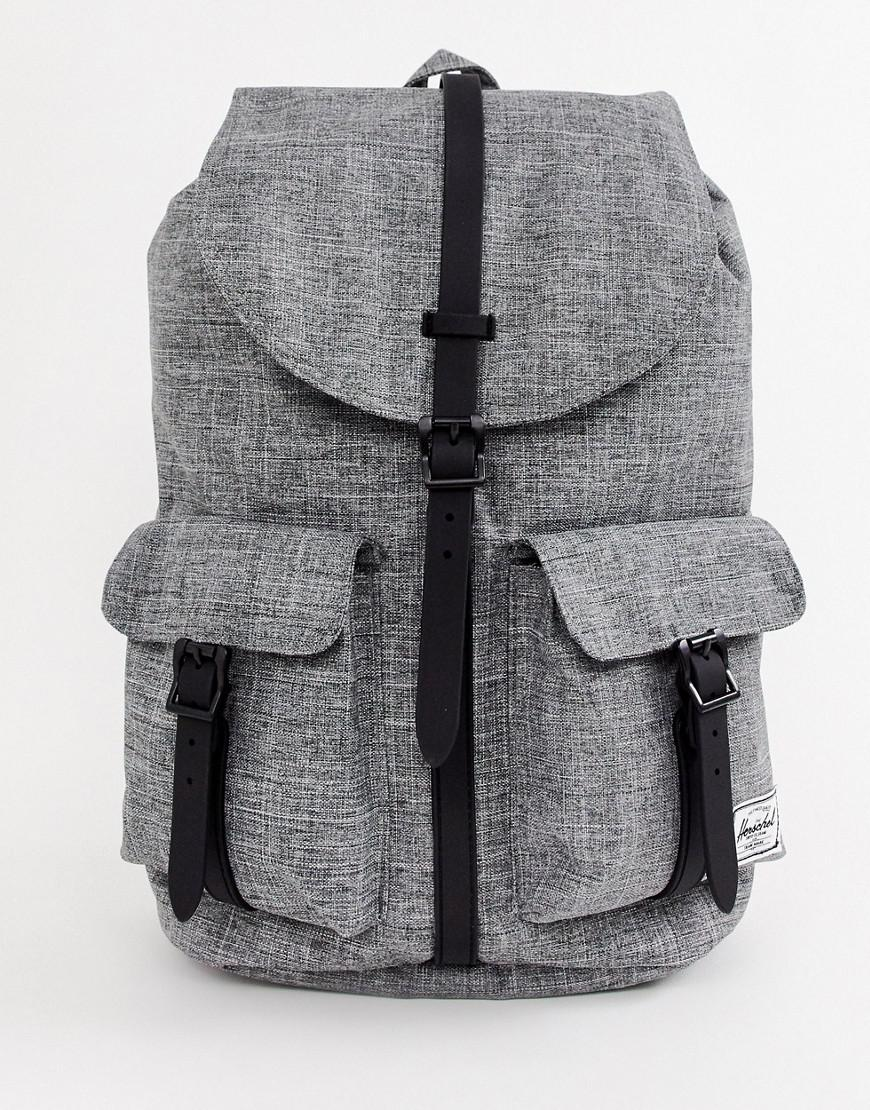 Herschel Supply Co. Dawson 20.5l Backpack In Raven Crosshatch in ... d561f9d35def8