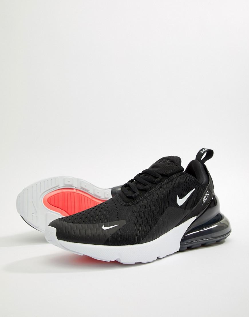 Nike Air Max 270 Trainers In Black Ah8050-002 in Black for Men - Lyst b1e798063