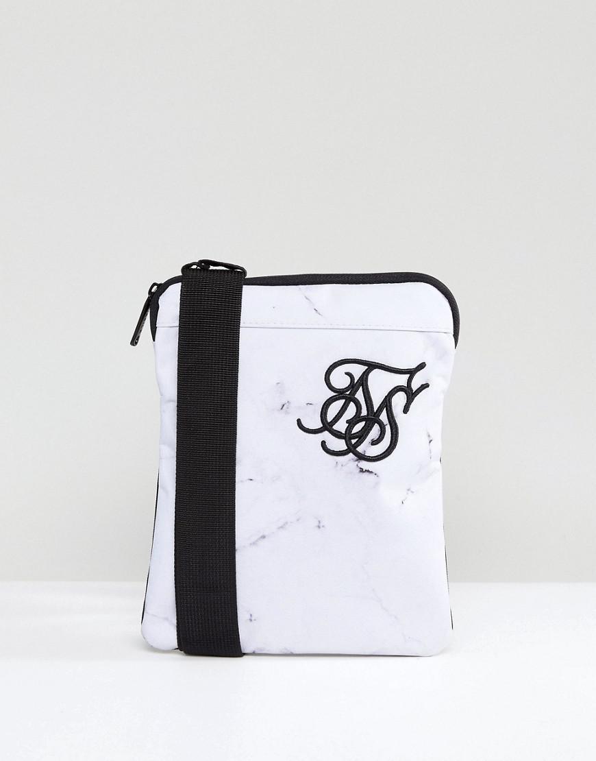 Siksilk Flight Bag In White in White for Men - Lyst 3f893f29e553e