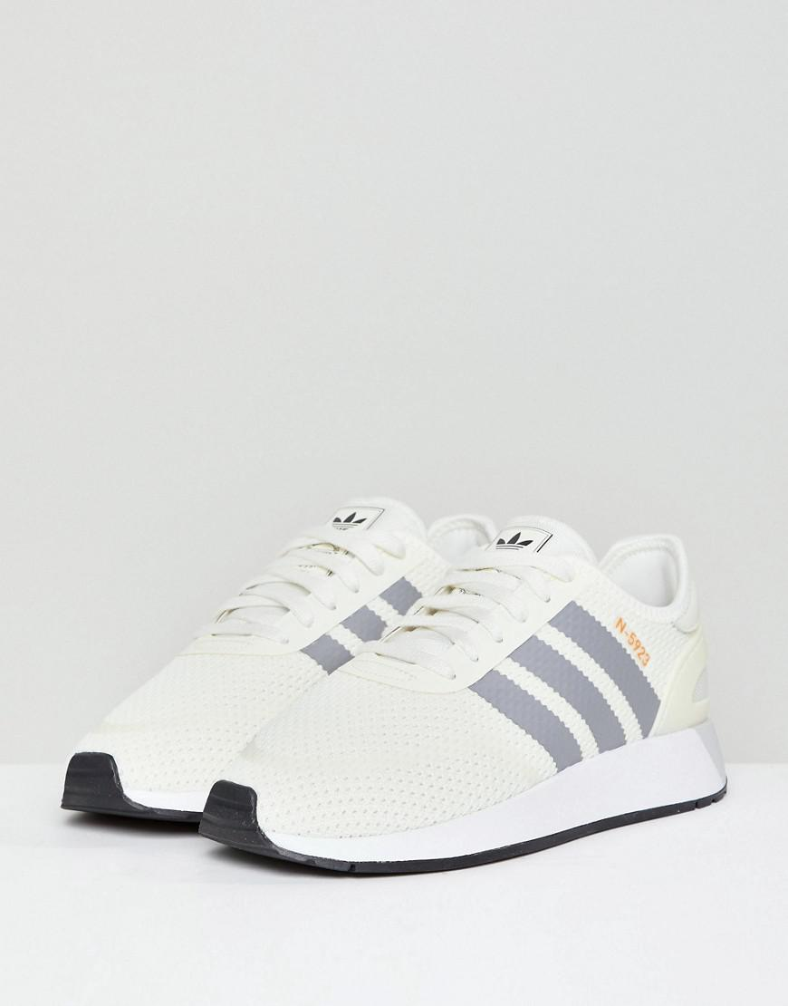 81565ccd97e1dc Lyst - adidas Originals N-5923 Runner Sneakers In Off White in White