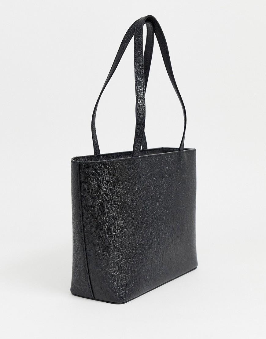 dc087b102356 Ted Baker Jessica Bow Shopper Bag in Black - Lyst