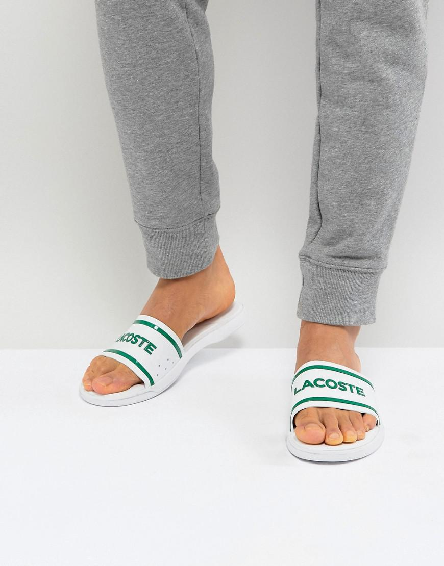 31469231a Lacoste  s L.30 Slides in White for Men - Lyst