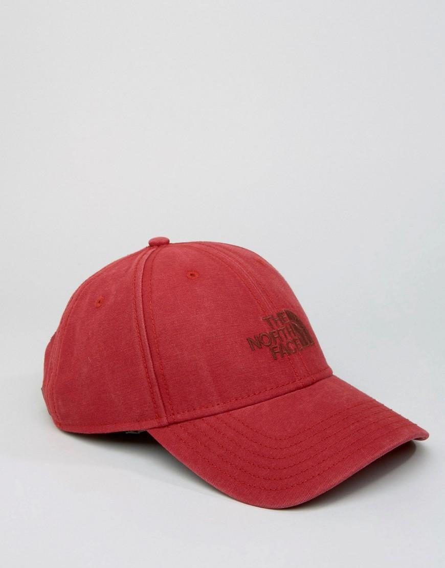 4241c628cea2b The North Face Classic Logo Baseball Cap Red in Red for Men - Lyst