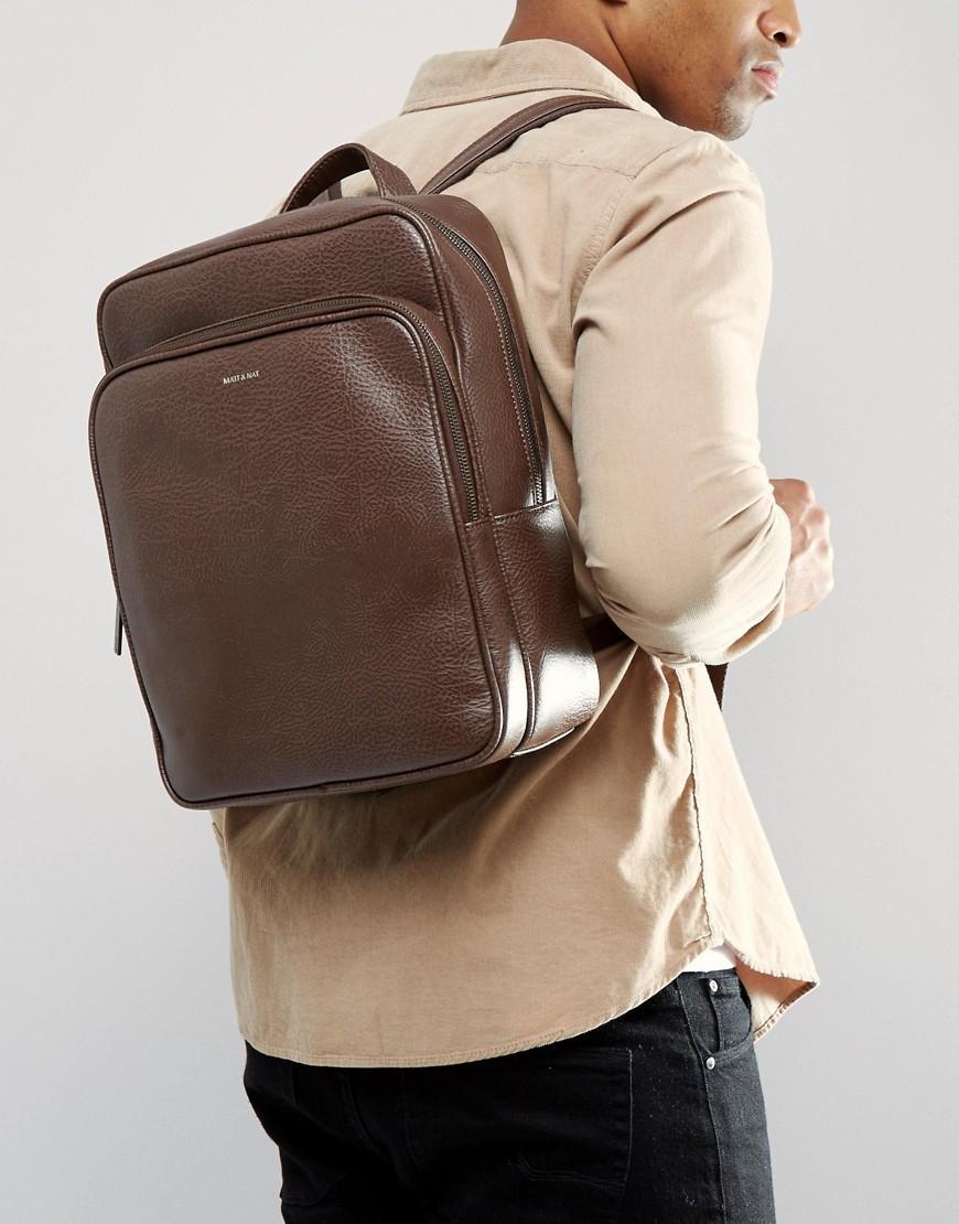 Lyst - Matt   Nat T Sydney Backpack in Brown for Men d3ef299841