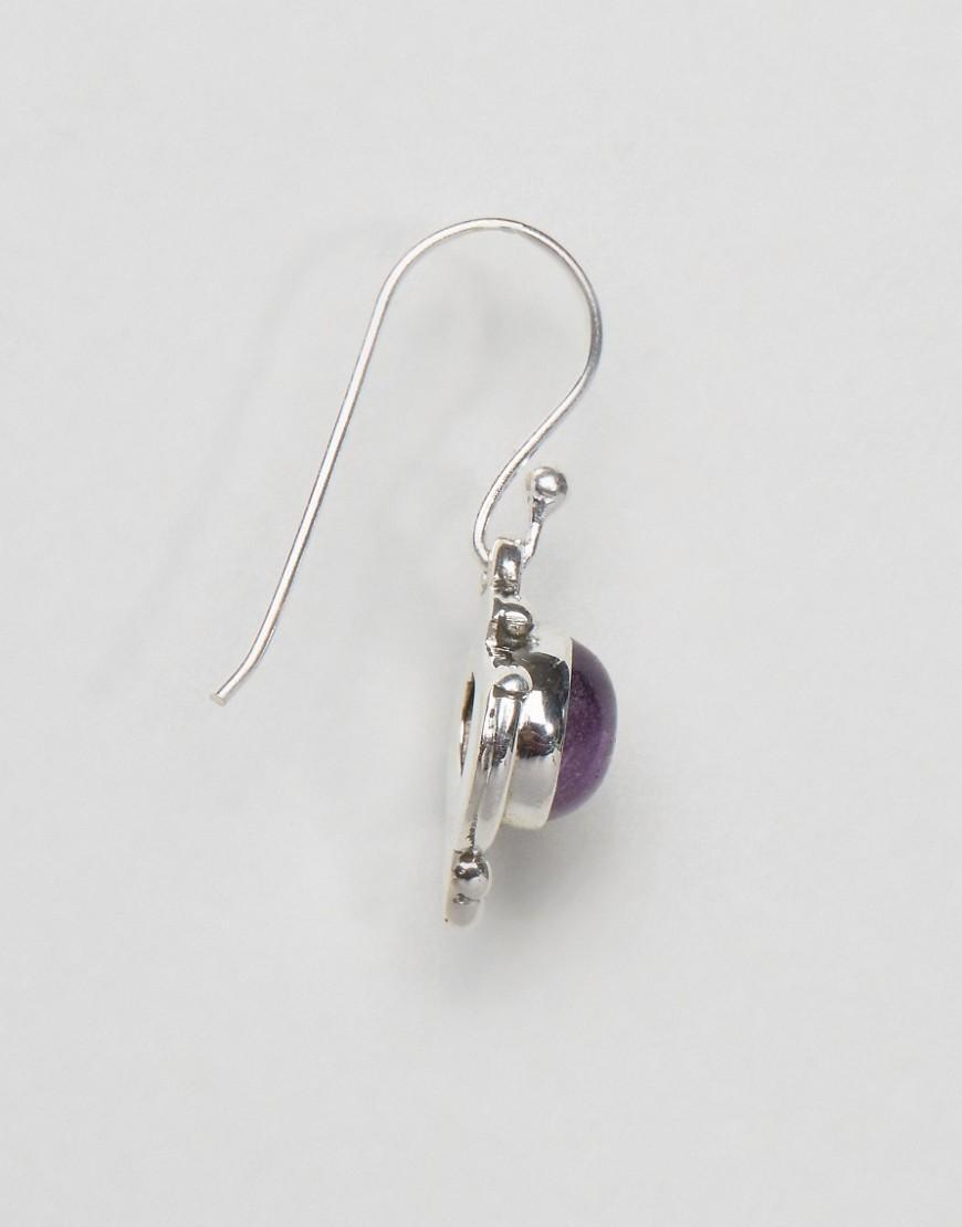 kingsley jo bali by amethyst drop earrings in