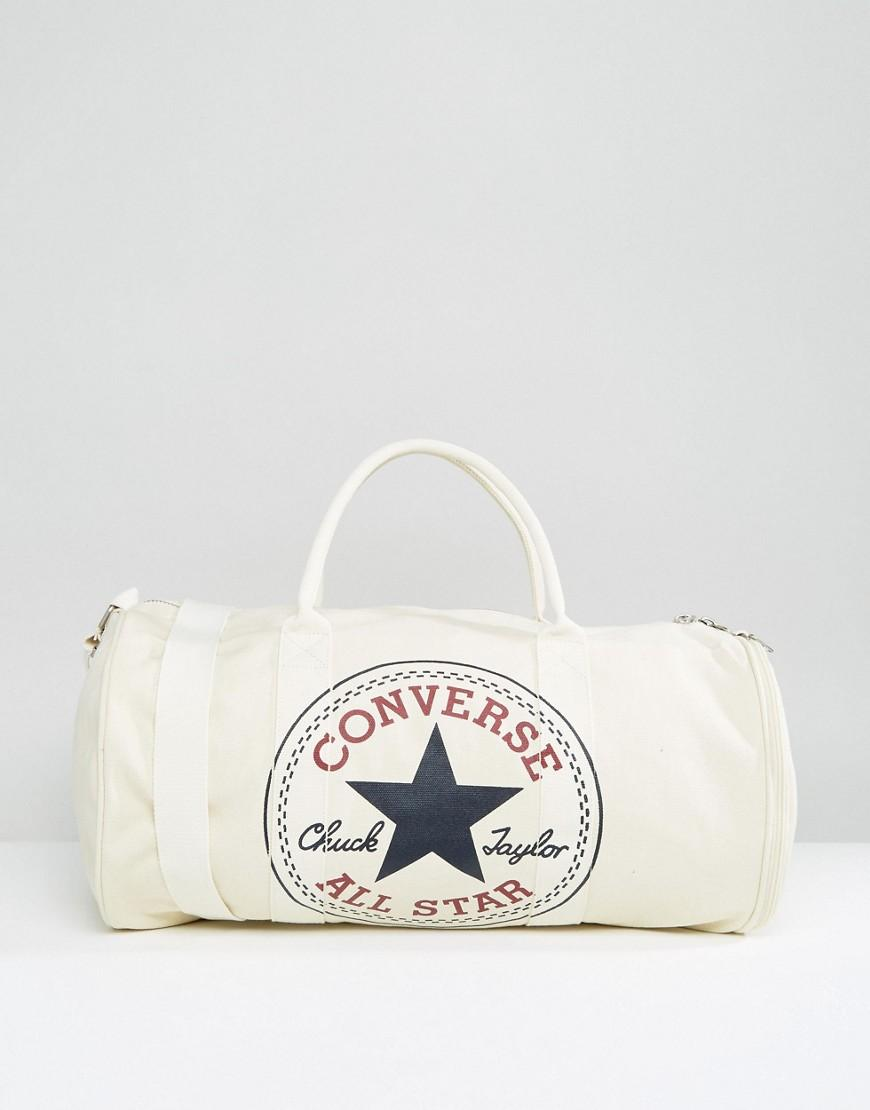 d01e8efdce Converse Chuck Duffle Bag in White for Men - Lyst