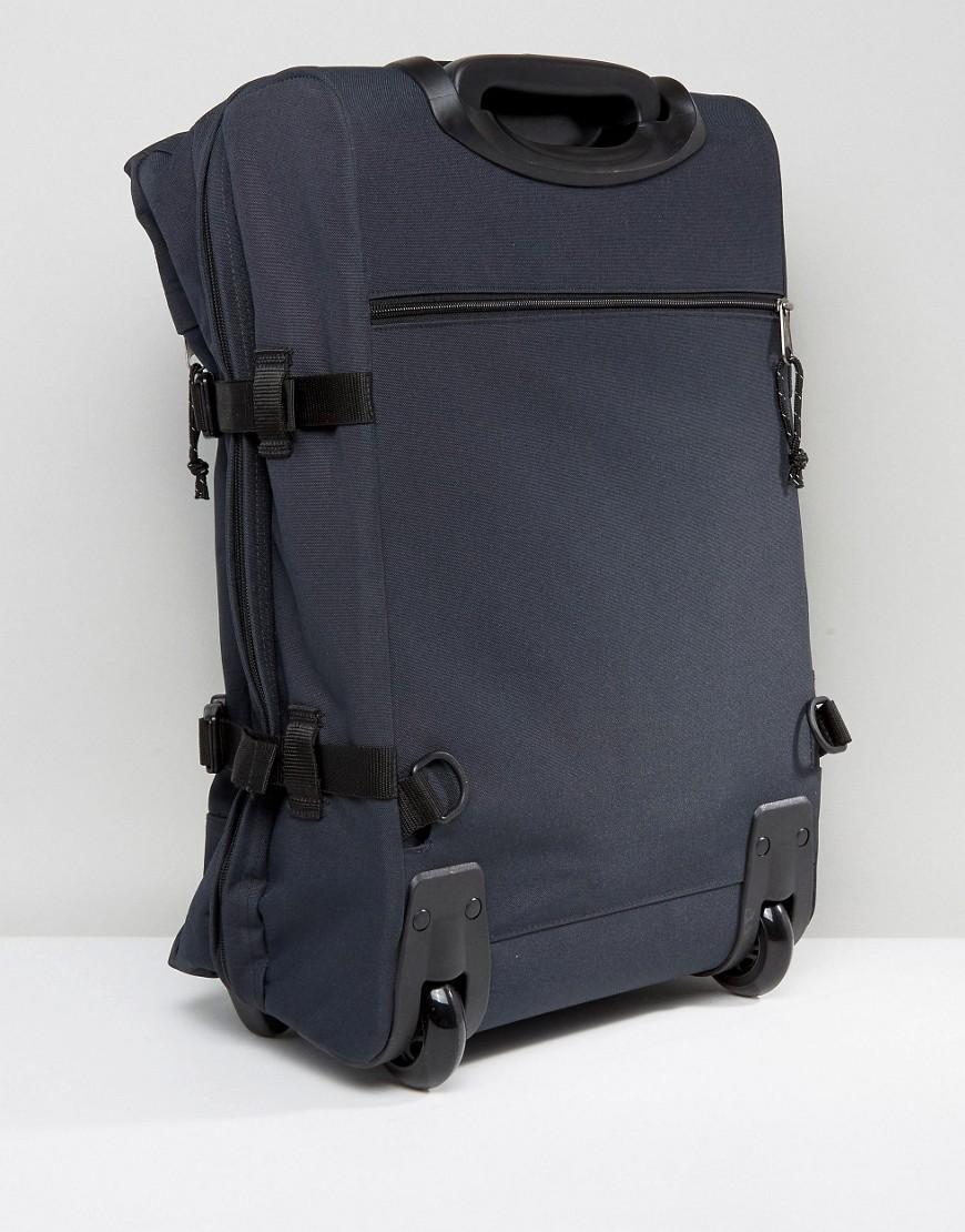 lyst eastpak strapverz cabin luggage in blue for men. Black Bedroom Furniture Sets. Home Design Ideas