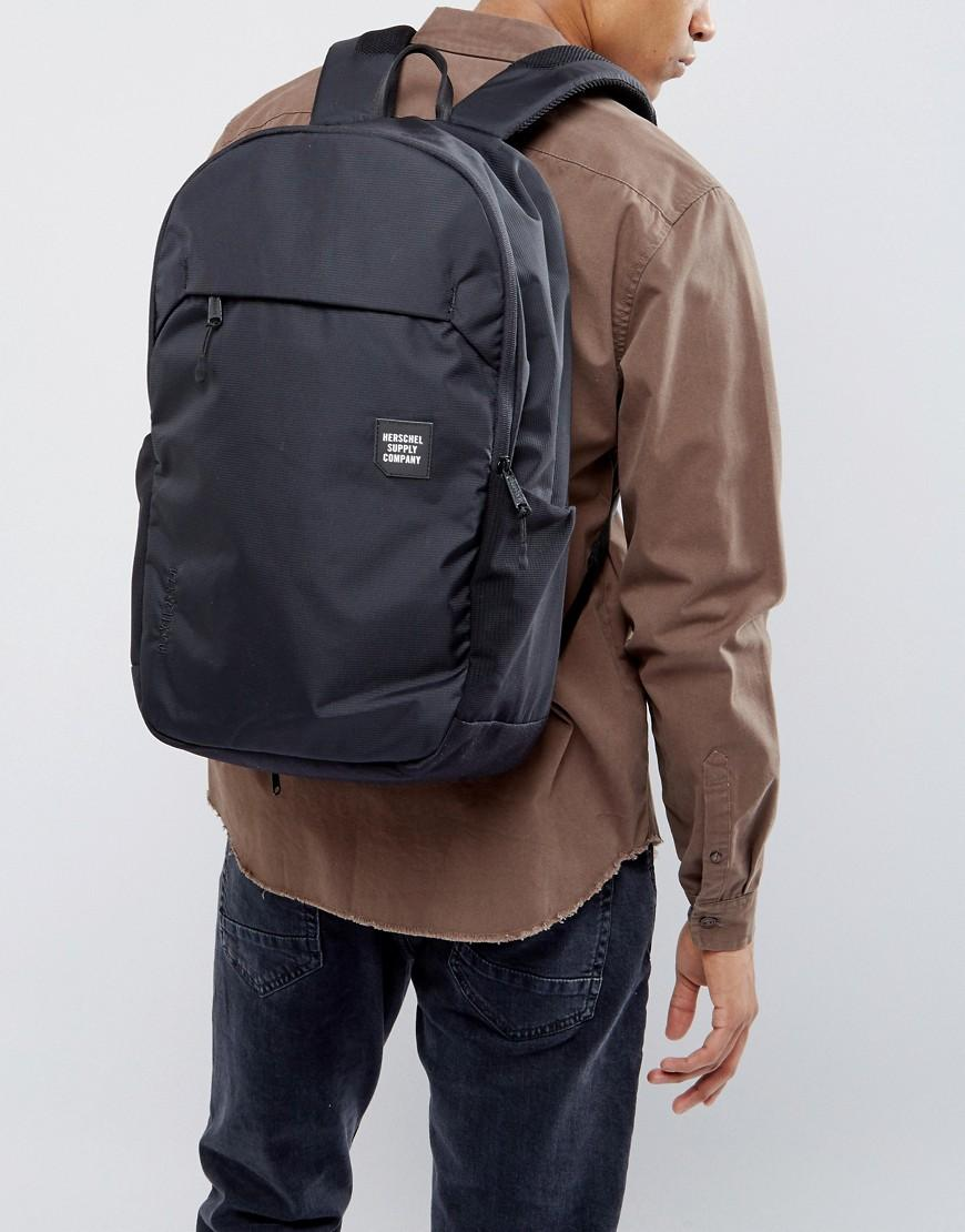 Lyst - Herschel Supply Co. Mammoth Backpack In Large 23l in Black ... 402575c7ab83c
