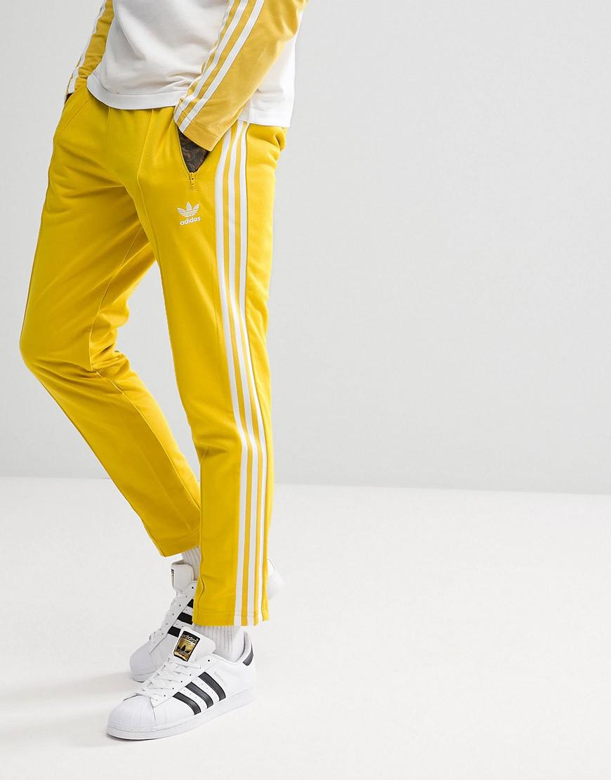 43d2db86d674 adidas Originals Adicolor Beckenbauer Joggers In Skinny Fit In ...