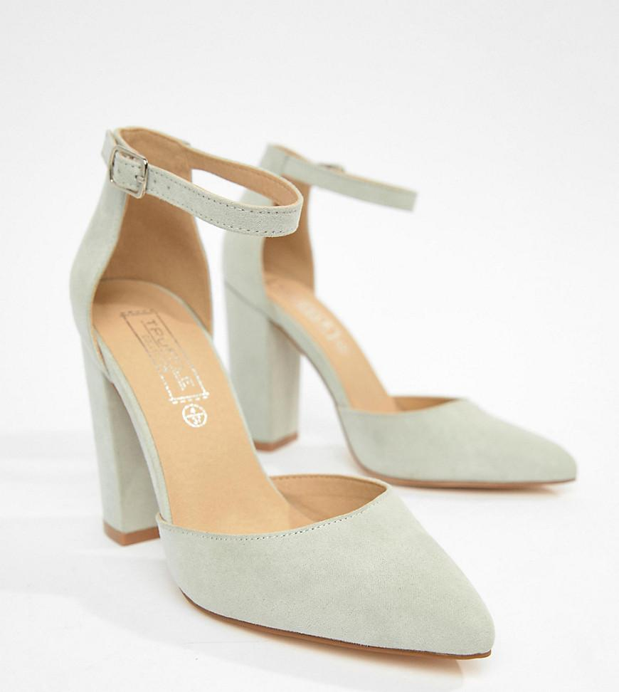 06a12572c9b Lyst - Truffle Collection Pointed High Heels in Gray