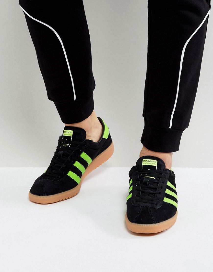 547f4f07c4c1a8 Lyst - adidas Originals Bermuda Sneakers In Black Bb5271 in Black ...