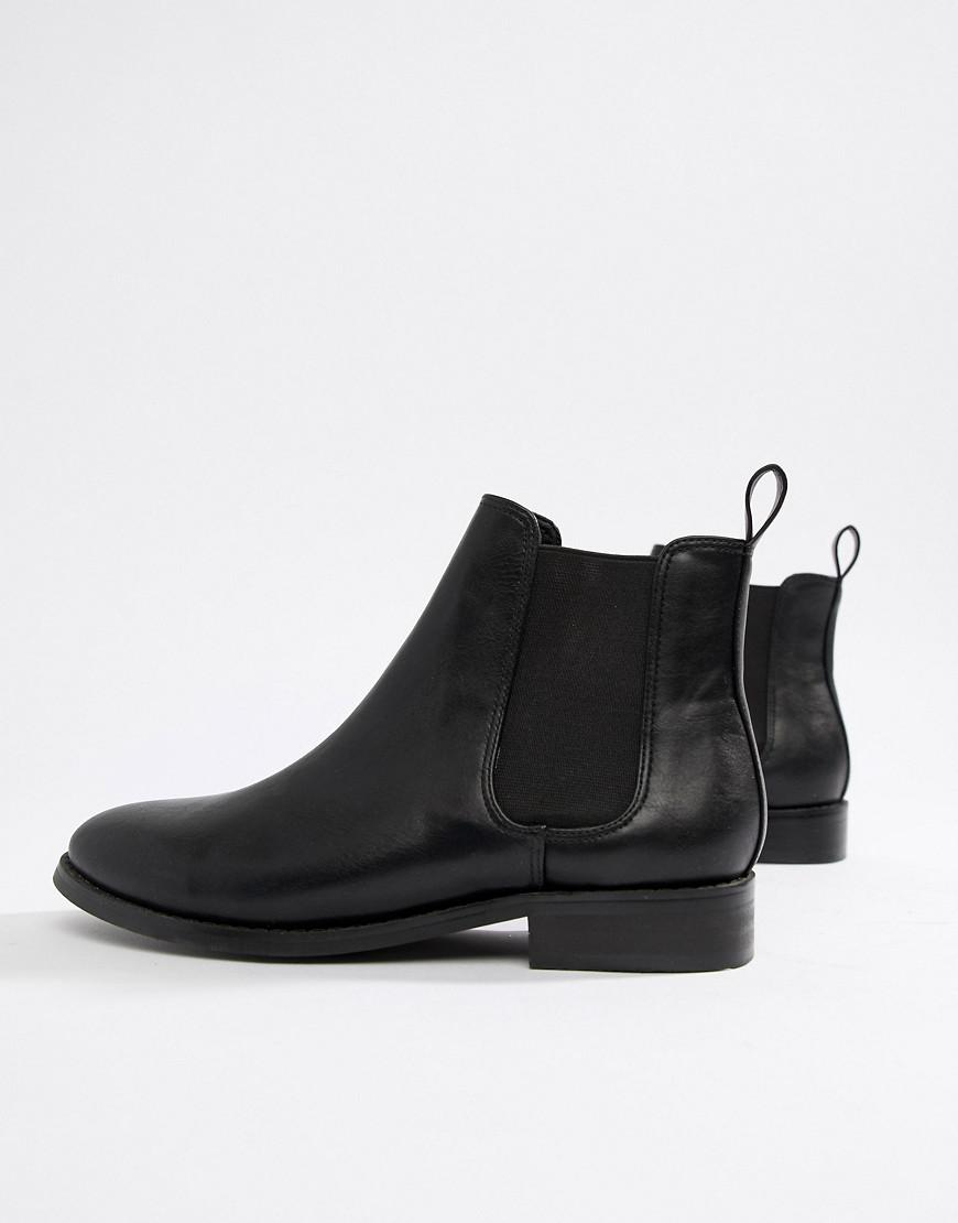 9f00da76857a Office Flat Chelsea Boots in Black - Lyst