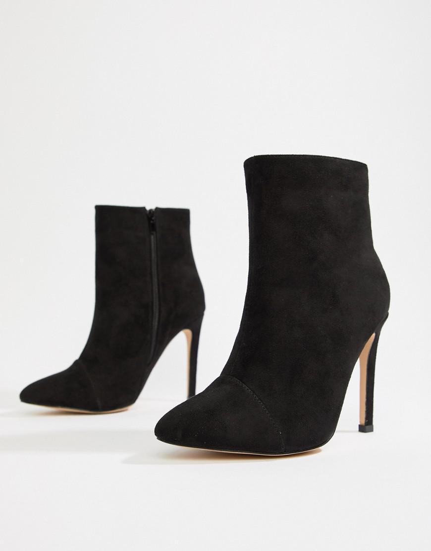 Black Black Fit Ankle Boots London Rebel Rebel Rebel Lyst in Wide Stiletto qOaOwv