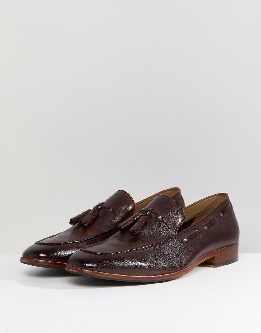 09e4e6a1397 ALDO Zoacien Tassel Loafers In Brown in Brown for Men - Lyst