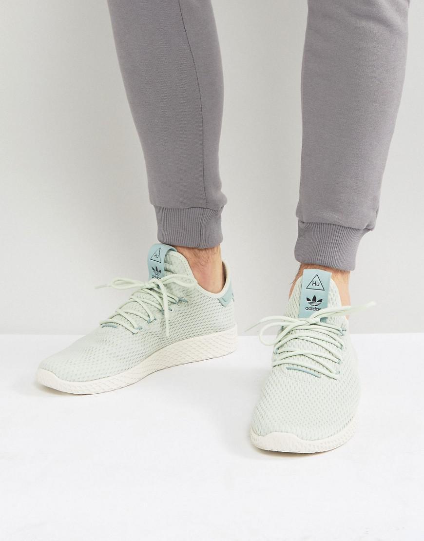 65fedb9b1c10b Lyst - adidas Originals X Pharrell Williams Tennis Hu Sneakers In ...