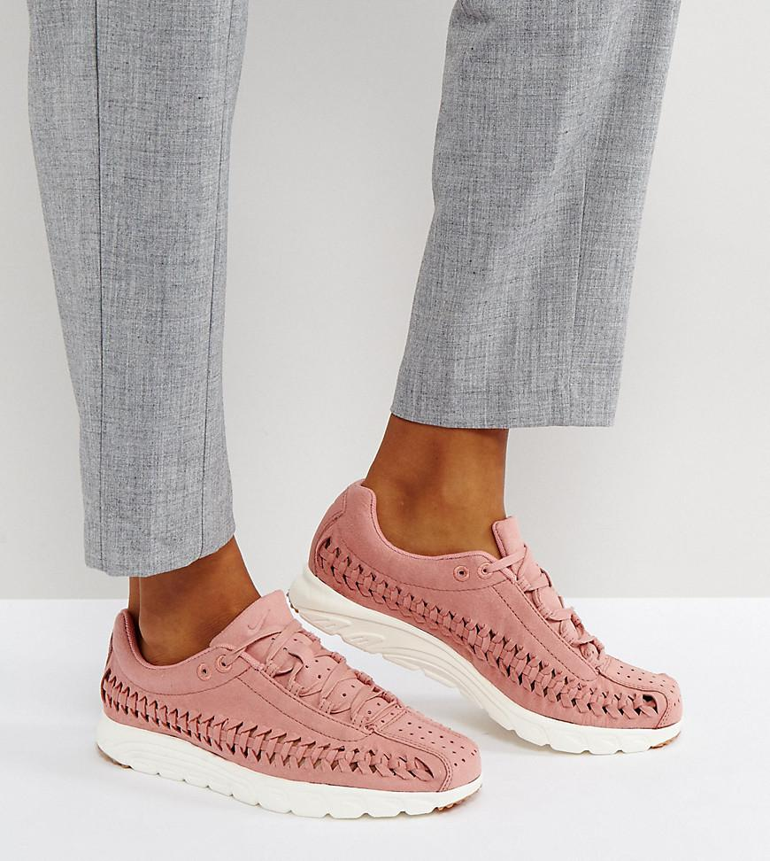 Nike Mayfly Woven Trainers In Pink in Pink - Lyst b9331432b