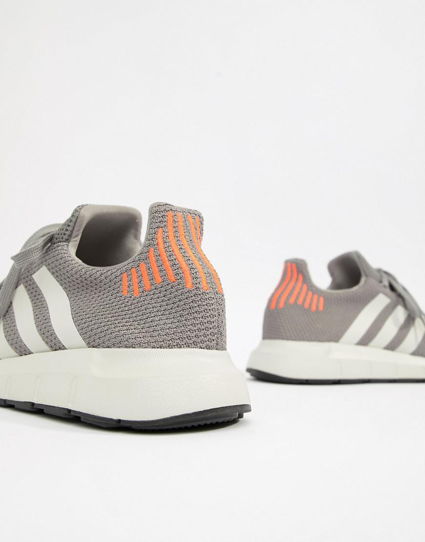 08d021eb5 Lyst - adidas Originals Swift Run Sneakers In Gray B37728 in Gray ...