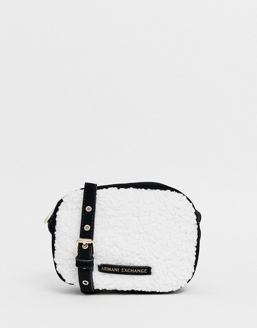 Armani Exchange - Black Borg Crossbody Bag - Lyst. View fullscreen 1862600e02