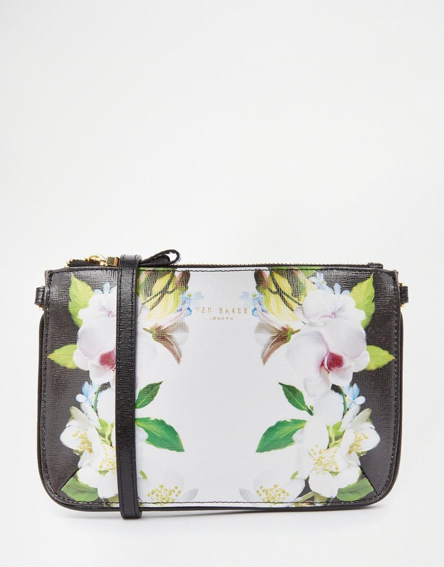 Ted Baker U0026#39;forget Me Notu0026#39; Cross Body Bag In Floral   Lyst