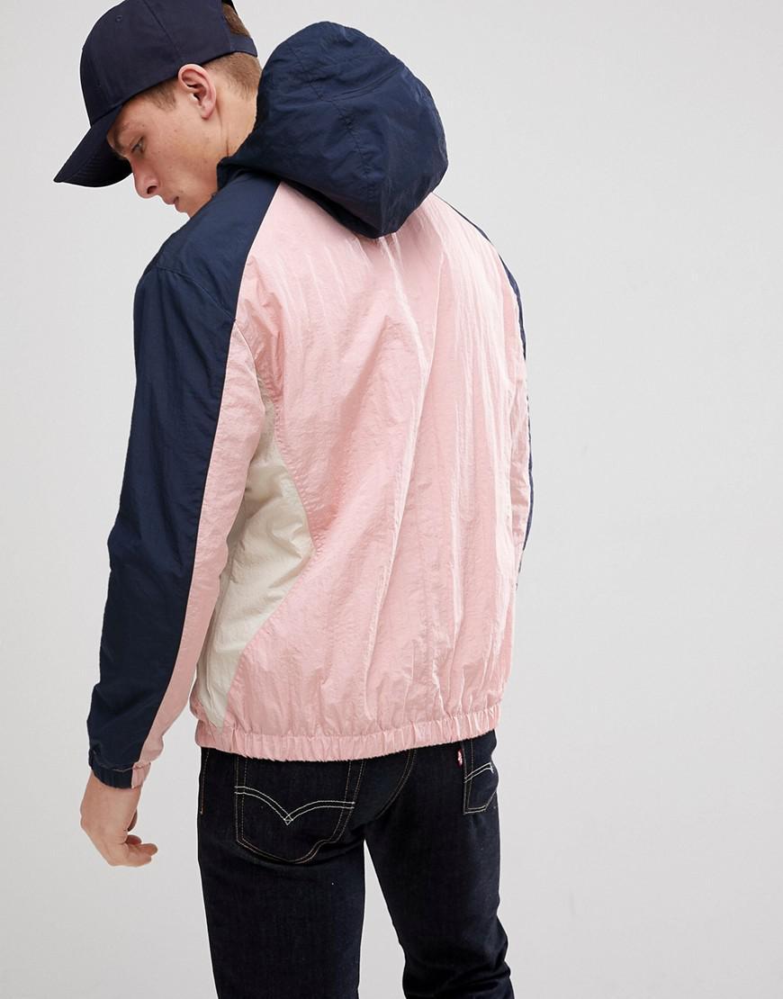 97cd794a1a17c Lyst - Coupe-vent color block Jack   Jones pour homme en coloris Rose